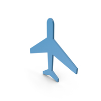 Aeroplane Dark Blue Icon PNG & PSD Images