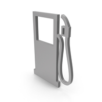 Gas Station Grey Icon PNG & PSD Images