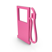 Gas Station Pink Icon PNG & PSD Images