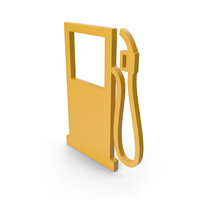 Gas Station Yellow Icon PNG & PSD Images