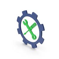 Symbol Tools Green PNG & PSD Images