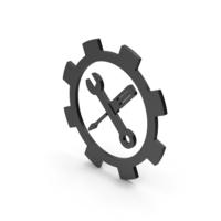 Symbol Tools Black PNG & PSD Images