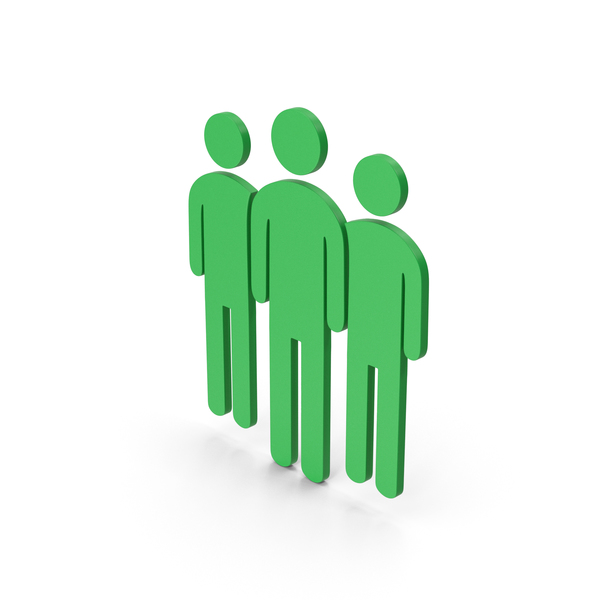 Symbol People Group Green PNG & PSD Images