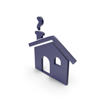 House Dark Blue Icon PNG & PSD Images