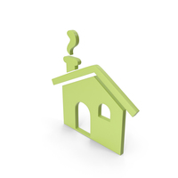 House Green Icon PNG & PSD Images