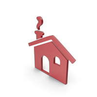 House Red Icon PNG & PSD Images