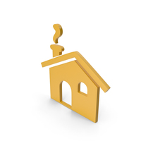 House Yellow Icon PNG & PSD Images