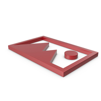 Picture Red Icon PNG & PSD Images