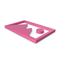 Picture Pink Icon PNG & PSD Images
