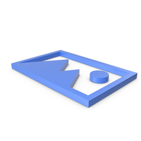 Picture Blue Icon PNG & PSD Images