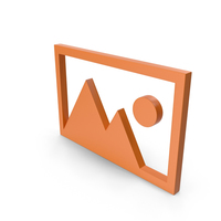 Picture Orange Icon PNG & PSD Images