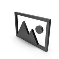Picture Black Icon PNG & PSD Images