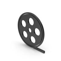 Symbol Film Roll Black PNG & PSD Images