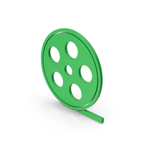 Symbol Film Roll Green PNG & PSD Images