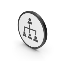 Icon Hierarchical Organization PNG & PSD Images