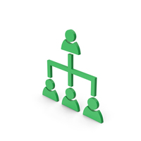 Symbol Hierarchical Organization Green PNG & PSD Images