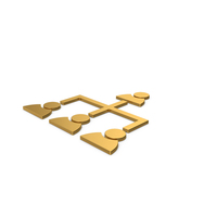 Gold Symbol Hierarchical Organization PNG & PSD Images