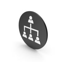 Hierarchical Organization Icon PNG & PSD Images