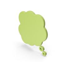 Speech Bubble Green PNG & PSD Images