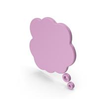 Speech Bubble Pink PNG & PSD Images