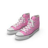 Basketball Leather Shoes Pink PNG & PSD Images