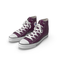 Basketball Leather Shoes Purple PNG & PSD Images