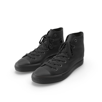 Basketball Leather Shoes Chuck Taylor PNG & PSD Images