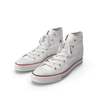 Basketball Leather Shoes White PNG & PSD Images