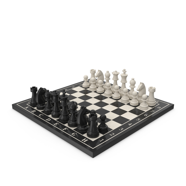 Chess Board with Chess Figure PNG & PSD Images