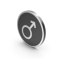 Silver Icon Male PNG & PSD Images