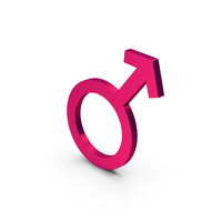 Symbol Male Metallic PNG & PSD Images