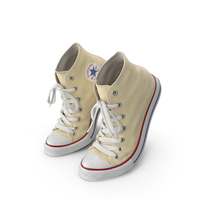 Basketball Leather Shoes Bent Light Yellow PNG & PSD Images