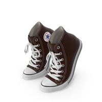Basketball Shoes Bent Brown PNG & PSD Images