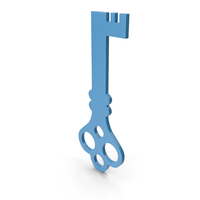 Key Blue Icon PNG & PSD Images