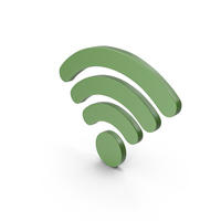 WiFi Symbol Green PNG & PSD Images