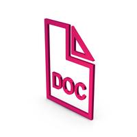 Symbol Doc File Metallic PNG & PSD Images