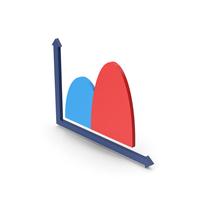 Symbol Curve Graph Chart PNG & PSD Images