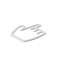 Hand Cursor Symbol PNG & PSD Images