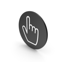 Hand Cursor Icon PNG & PSD Images