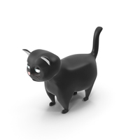 Fat Cat Cartoon PNG & PSD Images