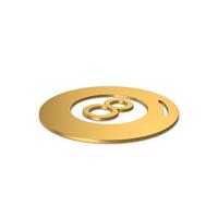 Gold Symbol Magic 8 Ball PNG & PSD Images