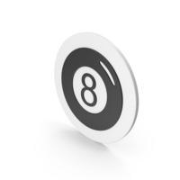 Magic 8 Ball Icon PNG & PSD Images