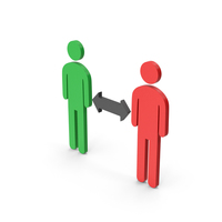 Symbol People Connection Colored PNG & PSD Images