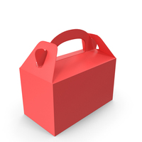 Food Box Red PNG & PSD Images