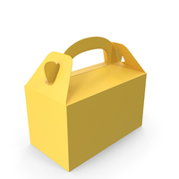 Food Box Yellow PNG & PSD Images