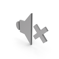 Symbol Sound Grey PNG & PSD Images
