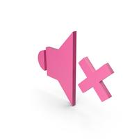Symbol Sound Pink PNG & PSD Images