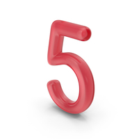 Number 5 Glass PNG & PSD Images