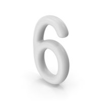 Number 6 PNG & PSD Images
