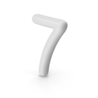 Number 7 PNG & PSD Images
